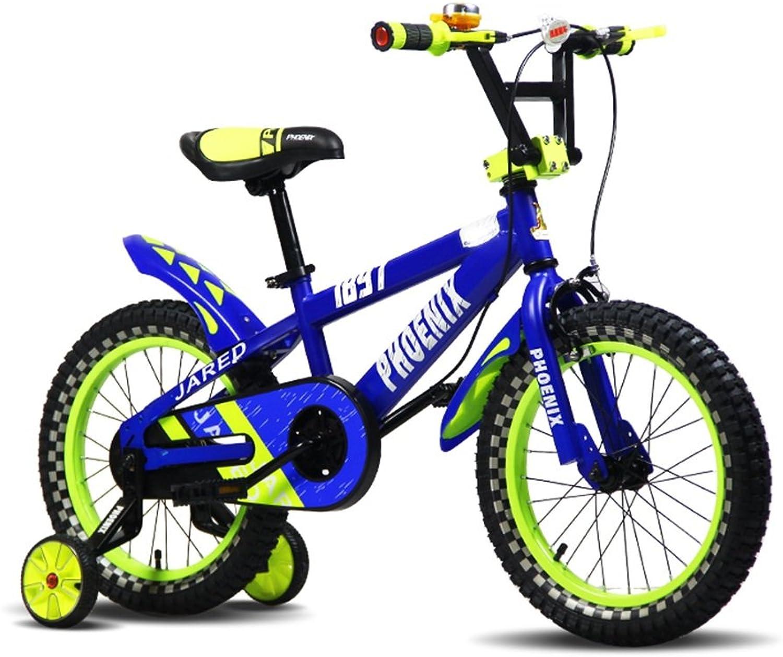 Venta en línea precio bajo descuento Bicicletas YANFEI azul naranja Bike Bike Bike Kid Bike 3 a 8 años de edad Niño y niña montar estable y seguro Regalo para Niños  ventas al por mayor