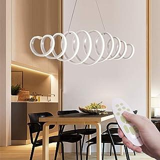 LED lampadario dimmerabile moderno disegno Lampada a