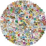 300 PCS Water Bottle Stickers, Vinyl VSCO Waterproof Cute Aesthetic Stickers, Hydroflask Laptop Phone Skateboard Stickers for Teens Girls Kids, Sticker Packs