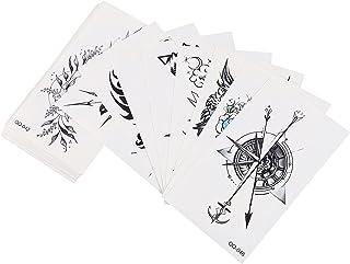 Beaupretty 40 Sheets Tattoo Stickers Waterdichte Tijdelijke Tattoos Stickers Gothic Mix Stijl Blijvende Body Art Tattoo St...