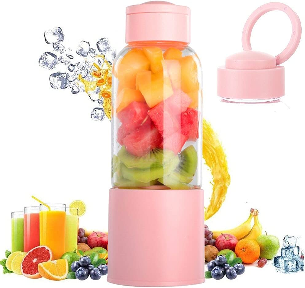 Portable famous Blender 6 blades Travel Mini Cup Person Max 59% OFF wireless Juicer