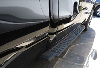 APS Auto Black Blow Molding Style Nerf Bars Running Boards Custom Fit 2019-2020 Ram 1500 Crew Cab Pickup 4-Door