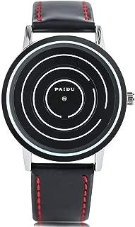 Mens Wrist Watches, Quartz PAIDU Helix Turntable Dial Sport Wrist Watch,Trendy Sports Gift