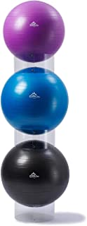 Black Mountain Products Exercise Stability Ball Display Holder, Pack of 3