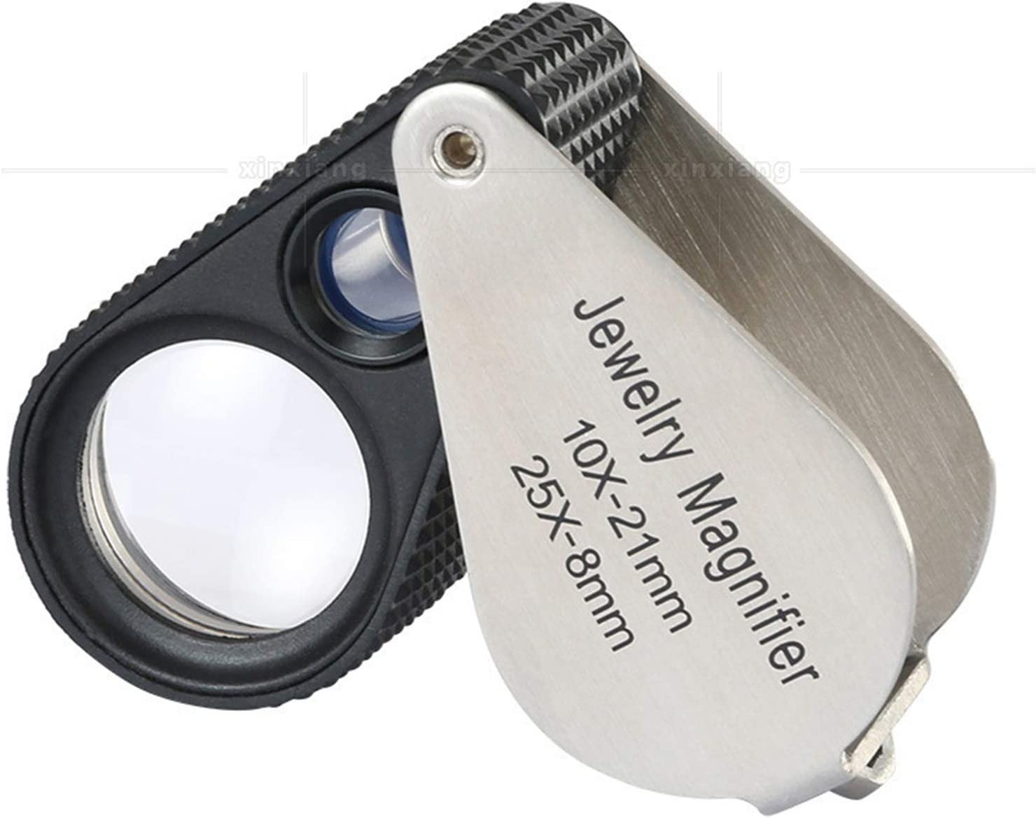HyiFMY Loupe with Light Limited time cheap sale Handheld Magnifier Jewelry Binocula Free shipping New 10X
