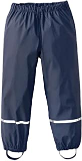SWSF Kids Rain Pants Waterproof Rain Trousers Windproof Outdoor Rainwear for Boys & Girls Toddler