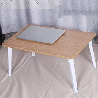Table Laptop Computer Stands Portable Standing Desk Lapdesks Foldable Portable Tablet Laptop Stand Density Board, 2 Colors...