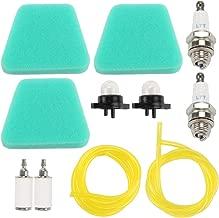 Kaymon 530037793 Air Filter for Poulan Craftsman Chainsaw 1950 2050 2450 Walbro 188-513 Primer Bulb 530095646 Fuel Filter Spark Plug Tune Up Kit