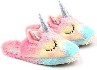 Pantofole Unicorn per Ragazza novità Pantofole Animali con Suola Antiscivolo