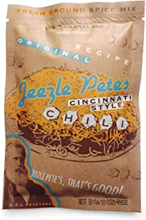Jeezle Pete's Cincinnati Chili Mix (5 packets)