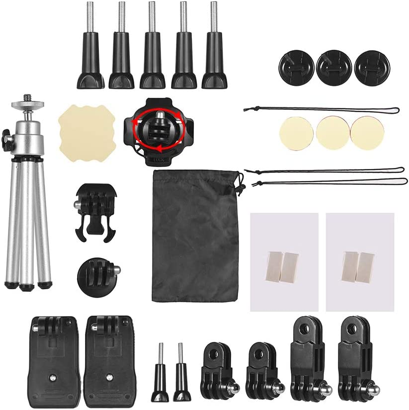 Andoer 32-in-1 Basic Common Action Fashionable Accessories Kit Brand new Go for Camera