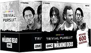 USAOPOLY TP116-469 AMC The Walking Dead Trivial Pursuit Game, Multicolor