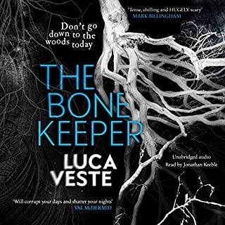 The Bone Keeper                   By:                                                                                                                                 Luca Veste                               Narrated by:                                                                                                                                 Jonathan Keeble                      Length: 10 hrs and 40 mins     135 ratings     Overall 3.8