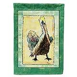 Caroline's Treasures 8094CHF Bird - Pelican Flag Canvas House Size, Large, Multicolor