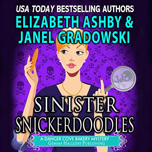 Sinister Snickerdoodles audiobook cover art