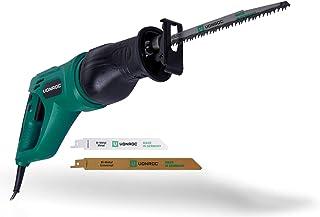 Sierra alternante VONROC - 900W - Mango giratorio - Bolsa de almacenamiento y 3 hojas de sierra (fabricadas en Alemania) para madera y metal