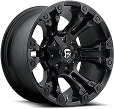 FUEL Off-Road Wheels: D560 (Vapor) - Matte Black; 18x9 Wheel Size, 8x180 Lug Pattern, 124.3mm Hub Bore, 12mm Off Set.