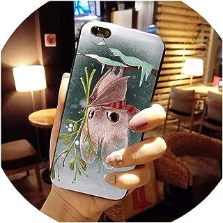 Cartoon Bat Red Panda Multi Colors Luxury Phone case for iPhone 8 7 6 6S Plus X 10 5 5S SE 5C,for iPhone 5c,2