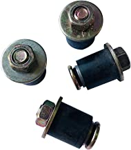 Snap-Tite Expandable Neoprene Rubber Plug with Stainless Steel Cams and Stainless Steel Hardware 7//16 x 11//16