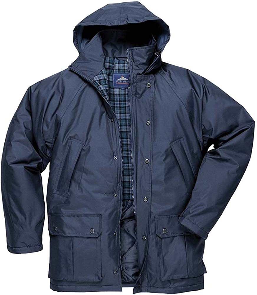 Portwest Workwear Mens Dundee Lined Jacket