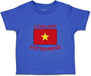 Custom Baby & Toddler T-Shirt Coolest Vietnamese Cotton Boy Girl Clothes