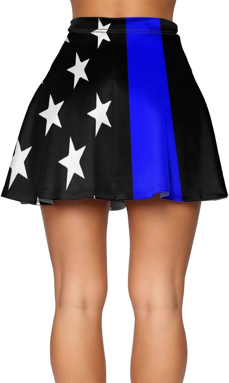 Vintage Retro Israel Flag Women's Skater Skirt Slim Fit Short Skirt