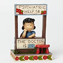 Jim Shore Peanuts Lucy Doctor is in Figurine 4042386 Charlie Brown