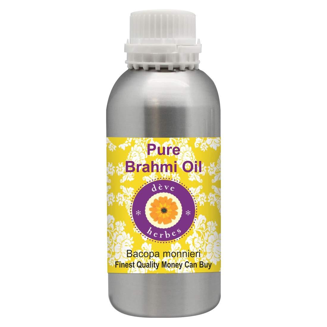 Deve Herbes Pure Brahmi Oil monnieri Premium Bacopa Therapeuti ディスカウント ブランド買うならブランドオフ