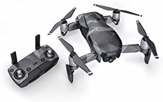 Starkiller 51 Piece Decal Kit for DJI Mavic Air Drone - Includes Drone Skin, Controller Skin and 3 Battery Skin
