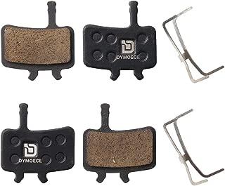 Dymoece 2 Pairs Bicycle Disc Brake Pads Compatible with Sram Avid BB7 Juicy 3 5 7 (Resin,Semi-Metallic,Sintered Metal) SCP-BB7