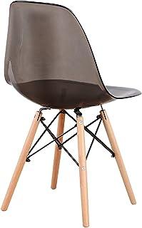 Sweethome - Sillas de comedor de cocina clásicas, diseño moderno con madera natural y respaldo de PC para cocina, comedor, lectura, cafetería y casa de huéspedes.