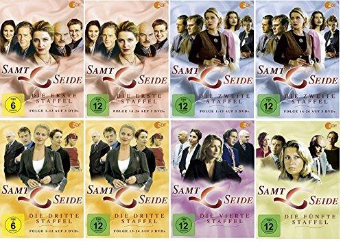Samt & Seide - Staffel 1+2+3+4+5 * DVD Set * Komplette Serie