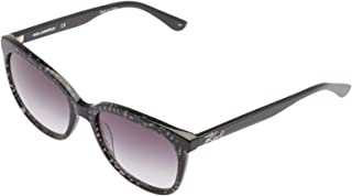 Karl Lagerfeld Women's Square Grey Plastic Sunglasses - KL967S 050 55-16-140mm