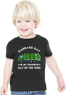 I Love Trash Garbage Toddler Boys Girls T Shirt Garbage Truck Lover Gift