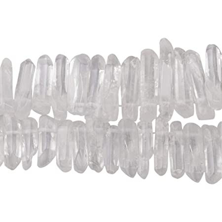 10 Pcs 20x8mm Natural Rock Crystal Quartz Faceted Rice Briolettes Semiprecious Gemstone Beads Wire Wrapping DIY Jewelry Making Beads