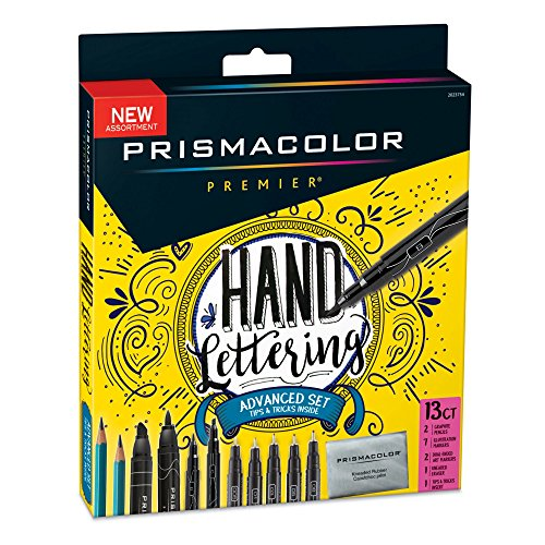 Prismacolor Advanced Hand Lettering Set 13/Pkg-