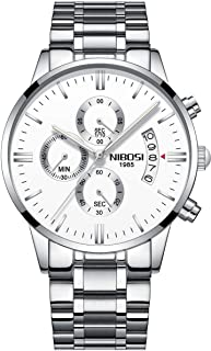 Casual Watch For Men Analog Stainless Steel Water Resistant