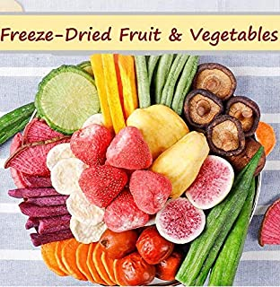 YRS Freeze-Dried Fruit Crispy Fresh Healthy Snacks Food Vegetables Banana Jelly Fruit frozen mixed Strawberry (Easy Carry ...