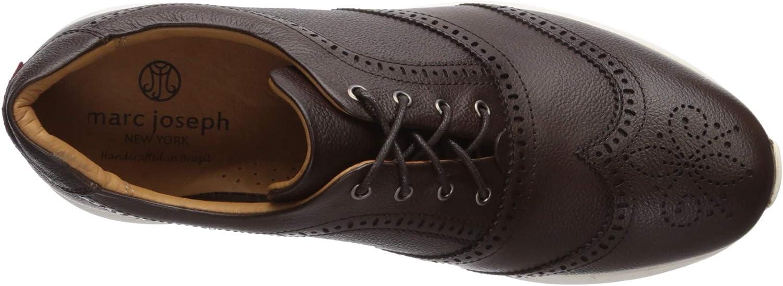 MARC JOSEPH NEW YORK Mens Leather Extra Lightweight Technology Wingtip Oxford