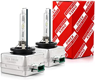 DMEX Hg-free D3S - 35W - 4300K Xenon Headlight HID Bulbs Replacement - 2 Yr Warranty - Pack of 2