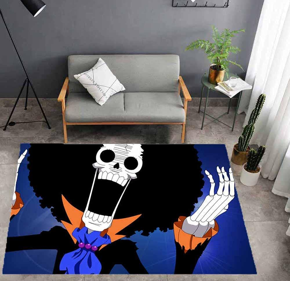 Special price Anime Super sale period limited Manga Carpet Boy Bedroom Birthday Mat Bathroom Gift-a Door
