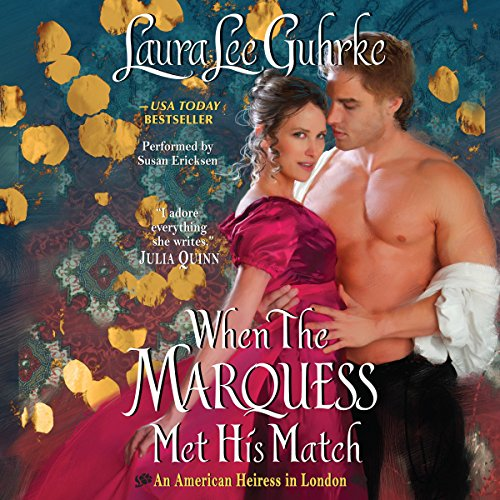 When the Marquess Met His Match audiobook cover art