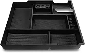 DNA MOTORING Black ZTL-Y-0019 Center Console Armrest Organizer Tray [for 14-19 Tundra]