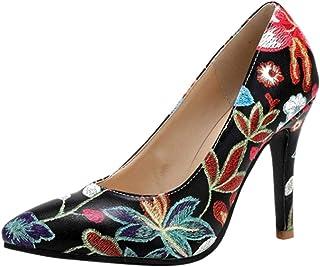 JOJONUNU Women Stiletto Pumps Shoes