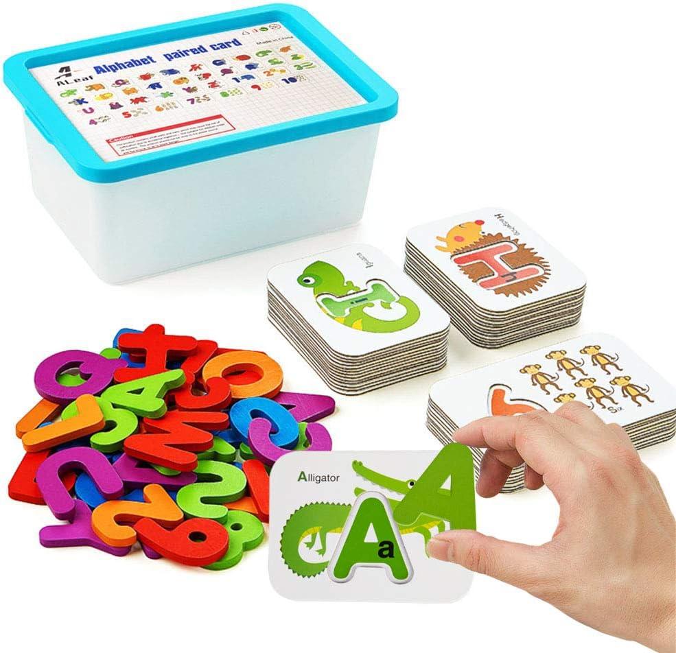 Alphabet and Number Flash Cards Preschool Import ALeaf Learning Lowest price challenge Educat