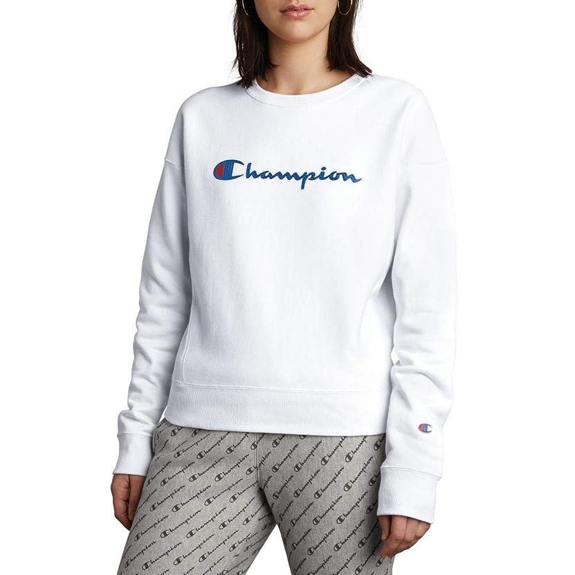 遺棄された浮く火山学者(チャンピオン) CHAMPION レディース トップス スウェット?トレーナー Logo Sweatshirt [並行輸入品]