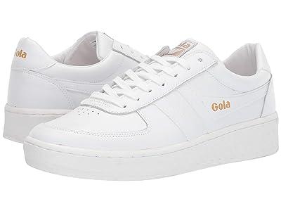 Gola Grandslam Leather (White/White/White) Men