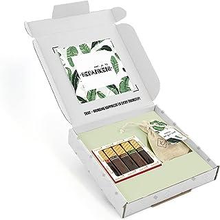 THNX - Bedankt cadeau - Merci Chocolade - Bloemzaden - Brievenbus Cadeau - 20 x 18.5 x 2.8