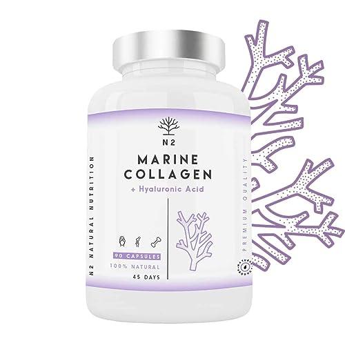 Colágeno Marino Hidrolizado Magnesio Acido Hialurónico Vitamina C Suplemento Articulaciones, Piel Huesos. Colageno PEPTAN