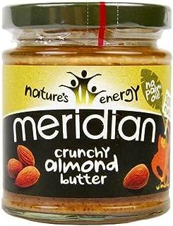Meridian Natural Crunchy Almond Butter, 170 g